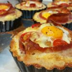 English Breakfast tarts cooked